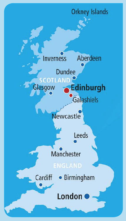 How to find us Scottish Borders Campus